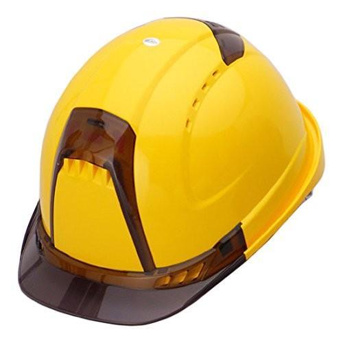 トーヨーセーフティー No.392F 透明ひさし 作業用 ヘルメット Venti plus(通気孔付き/ライナー入り)/  安全 工事用 建設用 建築用 現場用 高所用 保護帽|proshophamada|07