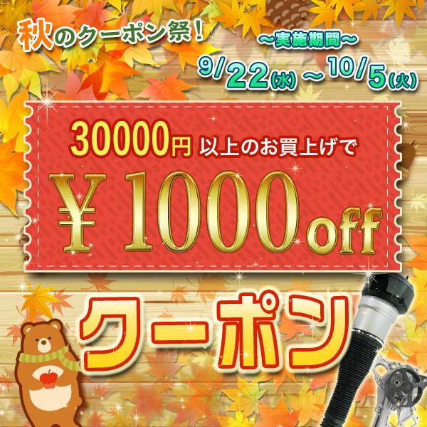 30,000円以上で今すぐ使える!【1000円OFFクーポン】
