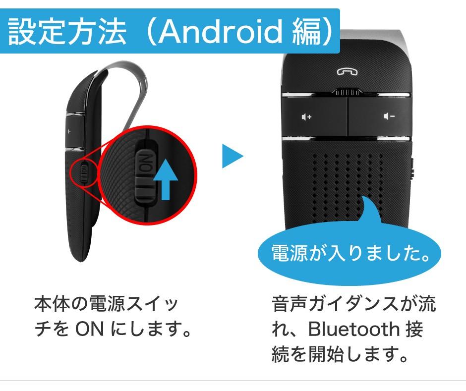 設定方法Android