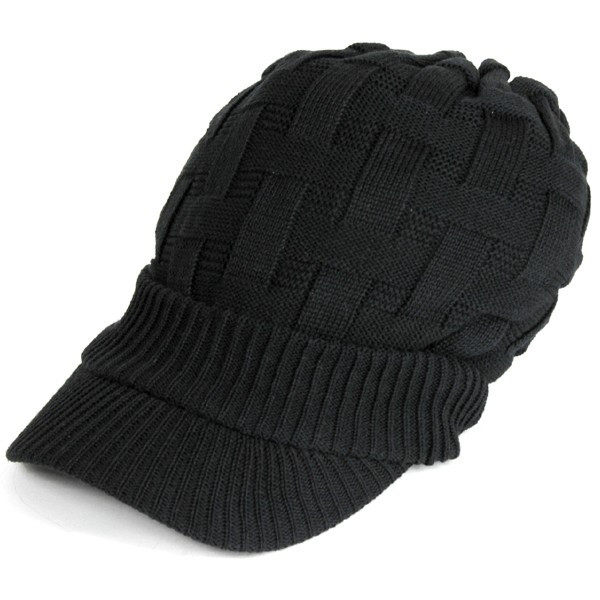 キャスケット 夏 メンズ 帽子 レディース ニット帽 つば付きニット帽 コットン クロス編み 送料無料|protocol|17