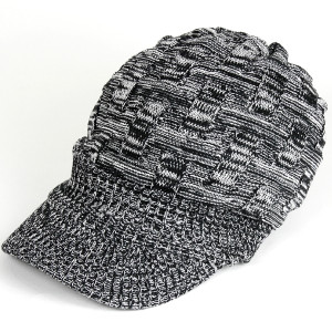 帽子 レディース 春 キャスケット 春夏 メンズ 大きい ニット帽 つば付きニット帽 夏 40代 大きめ コットン クロス編み 送料無料 母の日 ギフト|protocol|20