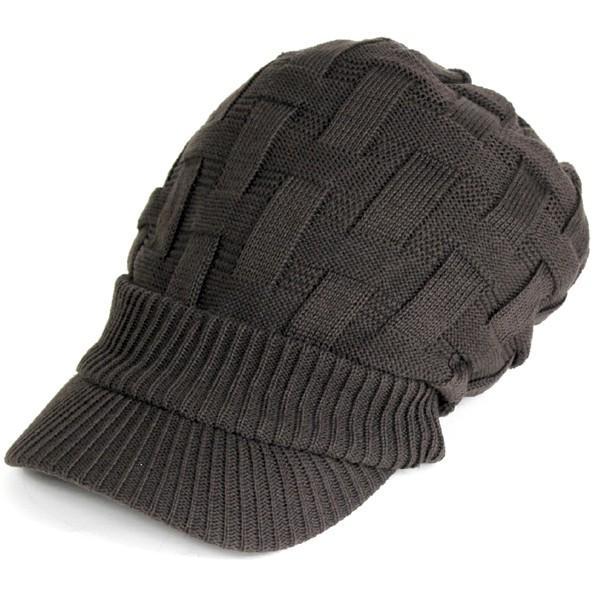 キャスケット 夏 メンズ 帽子 レディース ニット帽 つば付きニット帽 コットン クロス編み 送料無料|protocol|22