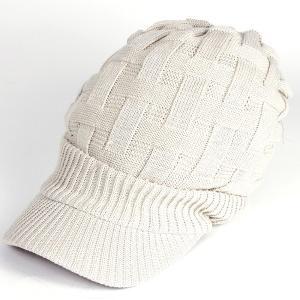 帽子 レディース 春 キャスケット 春夏 メンズ 大きい ニット帽 つば付きニット帽 夏 40代 大きめ コットン クロス編み 送料無料 母の日 ギフト|protocol|29