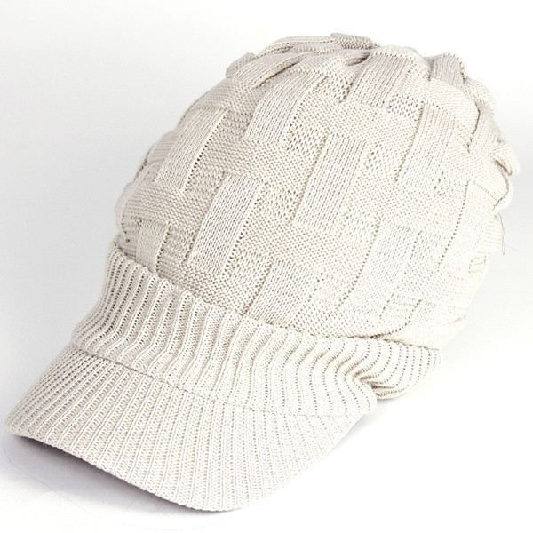 キャスケット 夏 メンズ 帽子 レディース ニット帽 つば付きニット帽 コットン クロス編み 送料無料|protocol|29