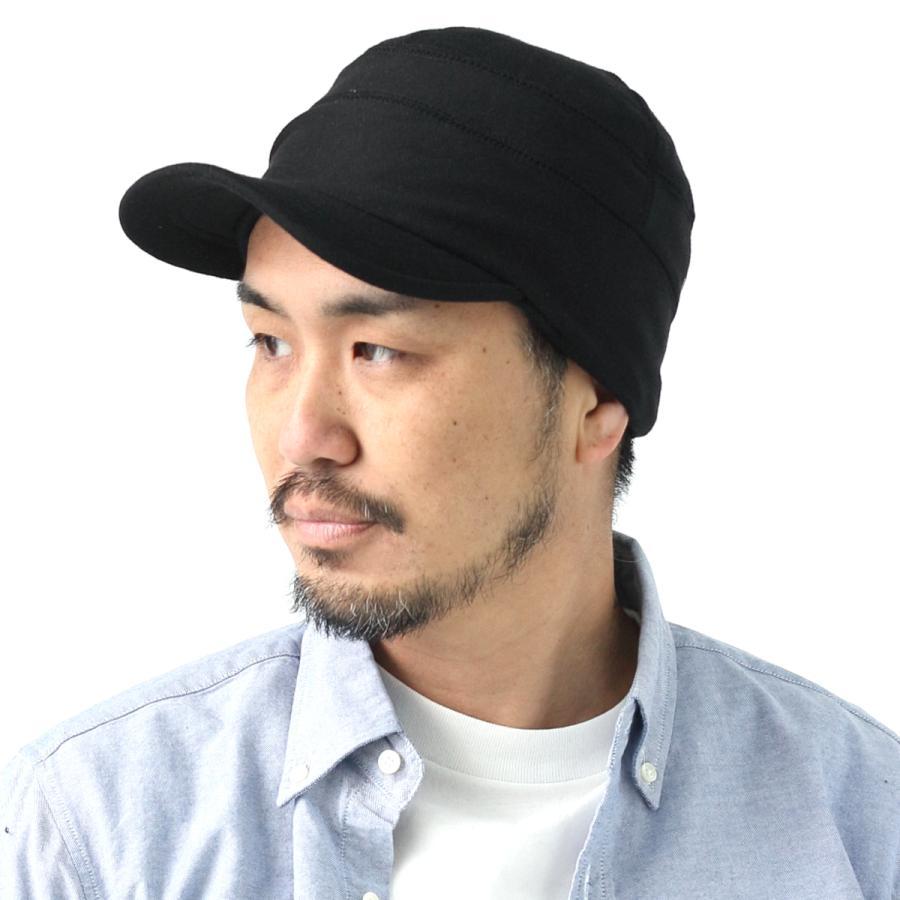 帽子 メンズ キャップ 秋冬 大きいサイズ スウェット ワークキャップ|protocol|16