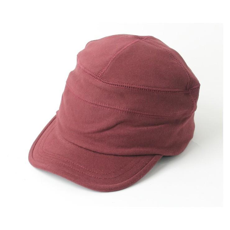 帽子 メンズ キャップ 秋冬 大きいサイズ スウェット ワークキャップ|protocol|23
