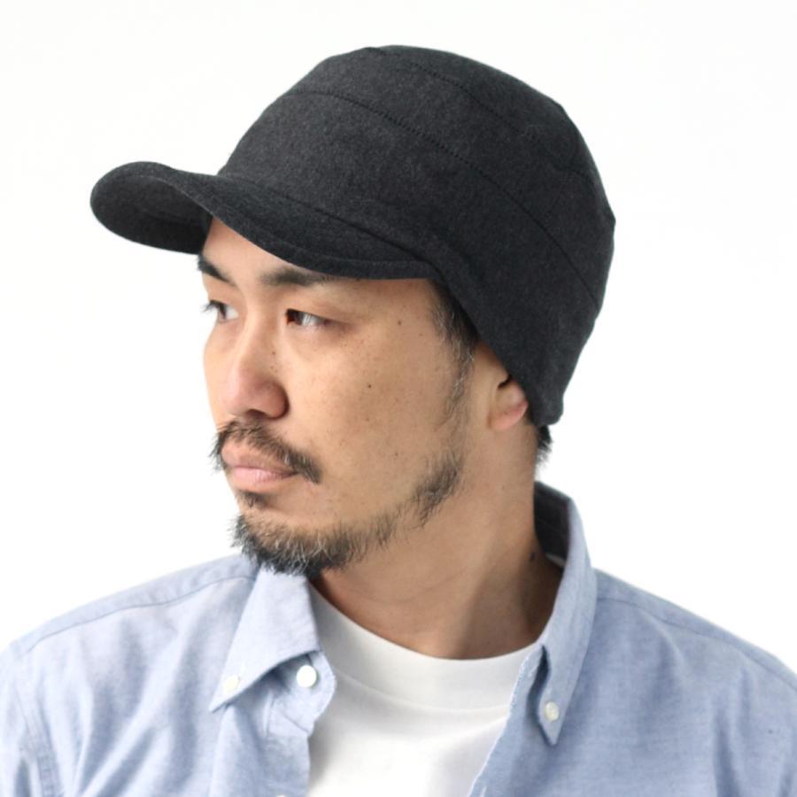 帽子 メンズ キャップ 秋冬 大きいサイズ スウェット ワークキャップ|protocol|15