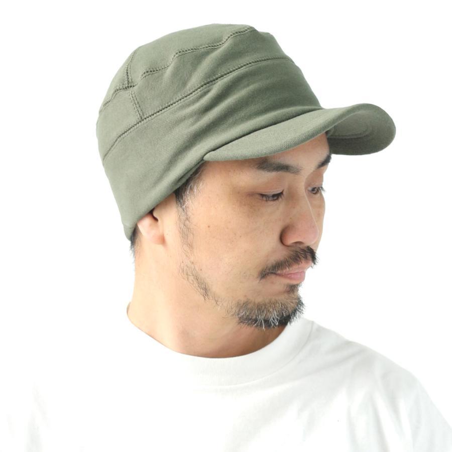帽子 メンズ キャップ 秋冬 大きいサイズ スウェット ワークキャップ|protocol|20