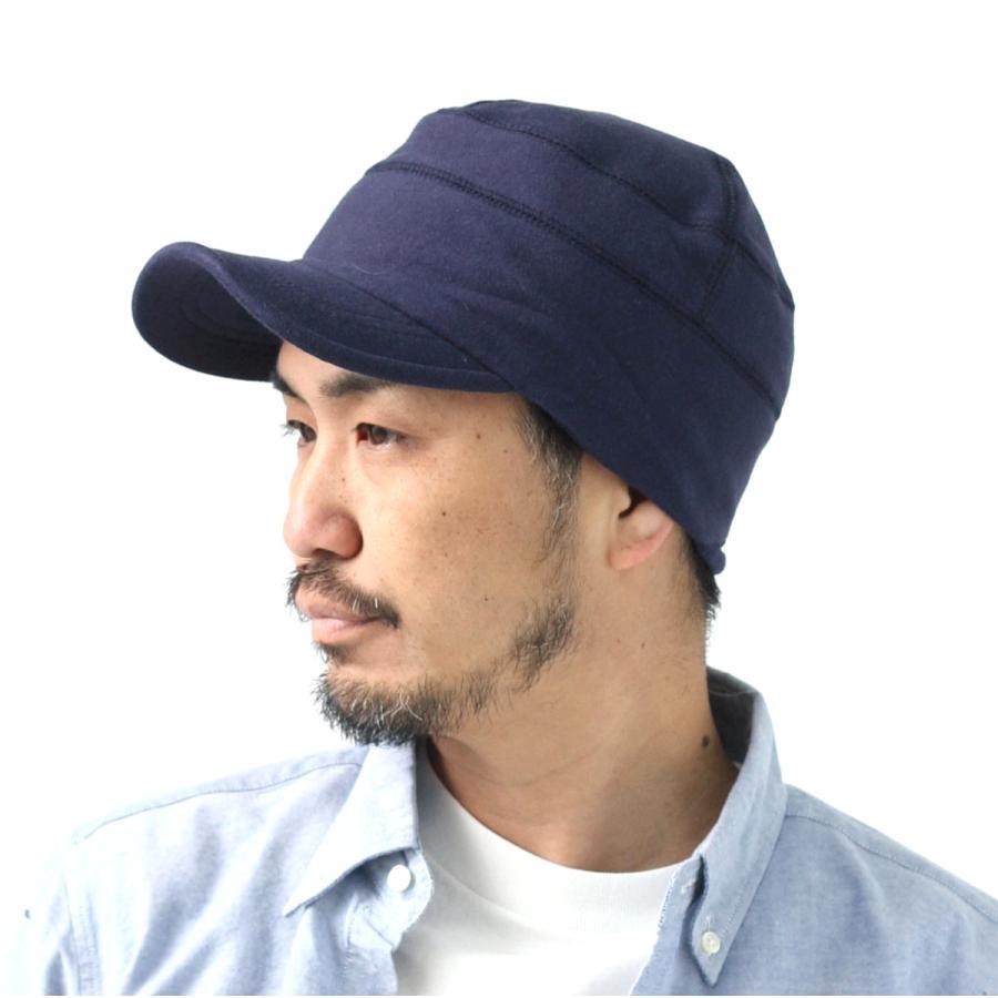 帽子 メンズ キャップ 秋冬 大きいサイズ スウェット ワークキャップ|protocol|17