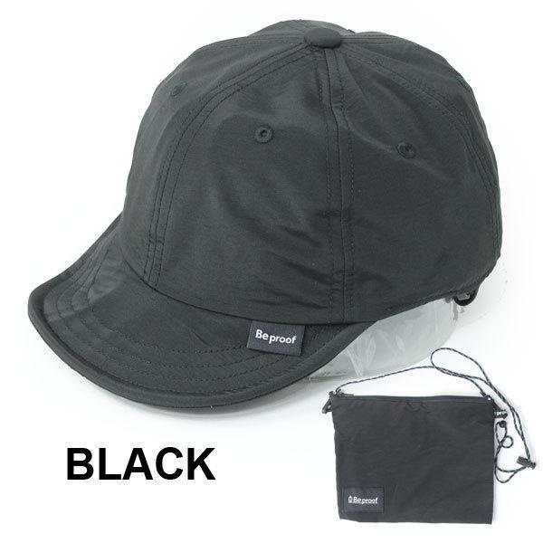 キャップ 帽子 メンズ Be PROOF コットンナイロン 6パネル CAP UVケア はっ水 吸水速乾 汗止め ポケッタブル サイズ調節可能 送料無料|protocol|10
