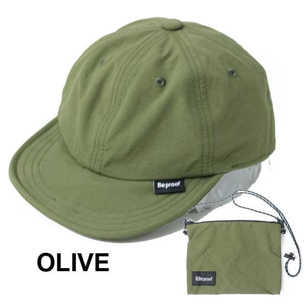キャップ 帽子 メンズ Be PROOF コットンナイロン 6パネル CAP UVケア はっ水 吸水速乾 汗止め ポケッタブル サイズ調節可能 送料無料|protocol|11