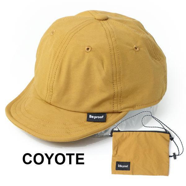 キャップ 帽子 メンズ Be PROOF コットンナイロン 6パネル CAP UVケア はっ水 吸水速乾 汗止め ポケッタブル サイズ調節可能 送料無料|protocol|12