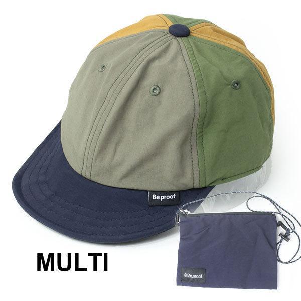 キャップ 帽子 メンズ Be PROOF コットンナイロン 6パネル CAP UVケア はっ水 吸水速乾 汗止め ポケッタブル サイズ調節可能 送料無料|protocol|13