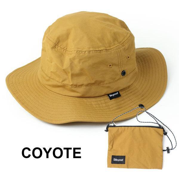 キャンプ 帽子 ハット Be PROOF コットンナイロン アドベンチャーハット / アウトドア ガーデニング 紫外線対策 / 送料無料 protocol 13