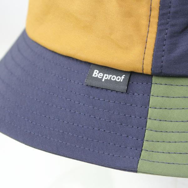 キャンプ 帽子 ハット メンズ レディース Be PROOF コットンナイロン バケットハット / アウトドア 帽子 ガーデニング 紫外線対策 父の日 おまけ付き