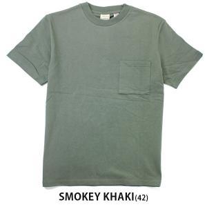 グッドウェア tシャツ メンズ 半袖 Goodwear USAコットン ポケット TEE 2W7-2500 春 夏 無地 定番 大きいサイズ 送料無料|protocol|23