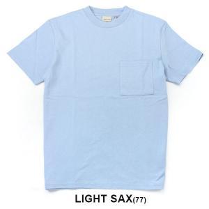 グッドウェア tシャツ メンズ 半袖 Goodwear USAコットン ポケット TEE 2W7-2500 春 夏 無地 定番 大きいサイズ 送料無料|protocol|24