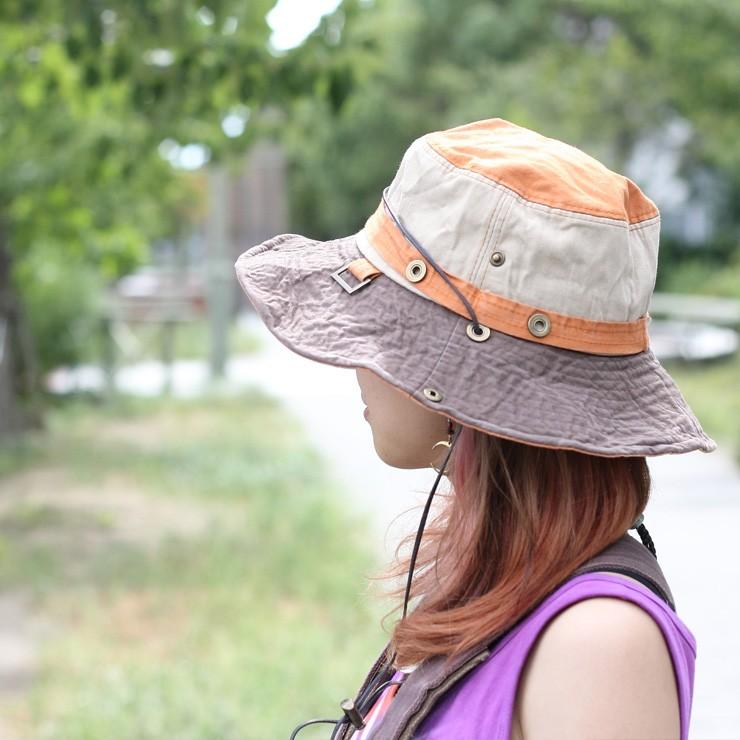サファリハット レディース 帽子 夏 メンズ ファッション 山ガール フェス 夏フェス 野外フェス 女性 登山 山登り 春 春夏 大きいサイズ あご紐 uv サファリ 折りたたみ つば広 花柄