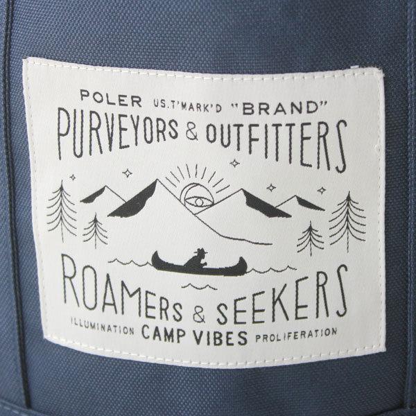 アウトドアブランドド バッグ ショルダーバッグ トートバッグ ポーラー POLeR ミニ トートバッグ メンズ レディース 旅行 アウトドア カジュアル アウトドア ファッション