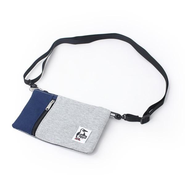 チャムス スマホ ショルダー CHUMS スマホ iPhoneケース Smart Phone Shoulder Sweat Nylon スマートフォンショルダースウェットナイロン CH60-2683 ブランド