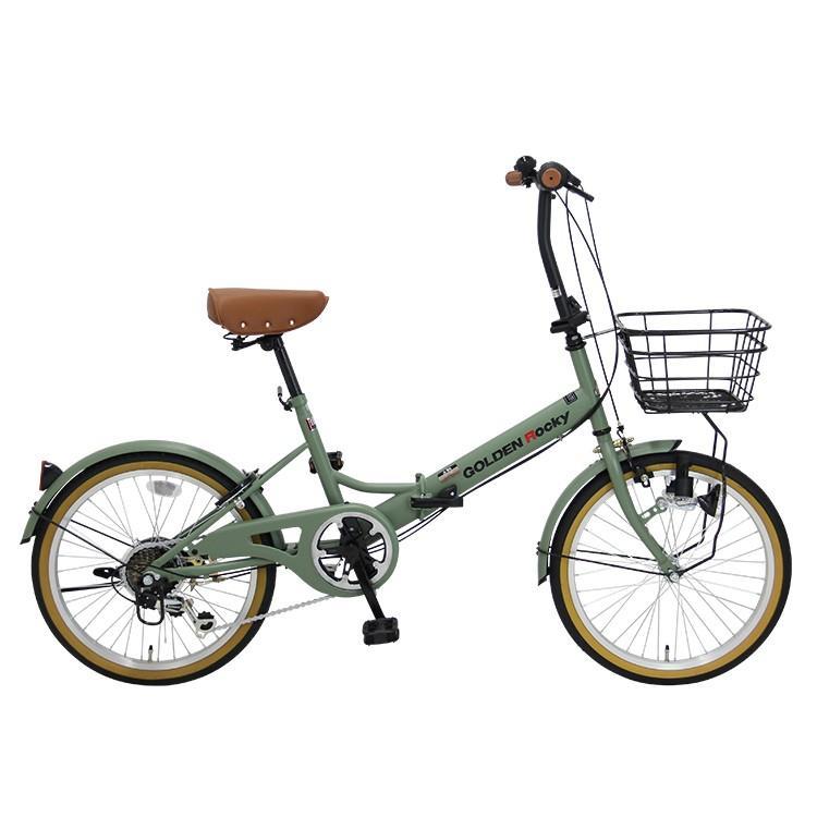 折りたたみ自転車 ミニベロ 20インチ 6段変速 GOLDEN ROCKY GOLDEN-ROCKY206 provocatio 15