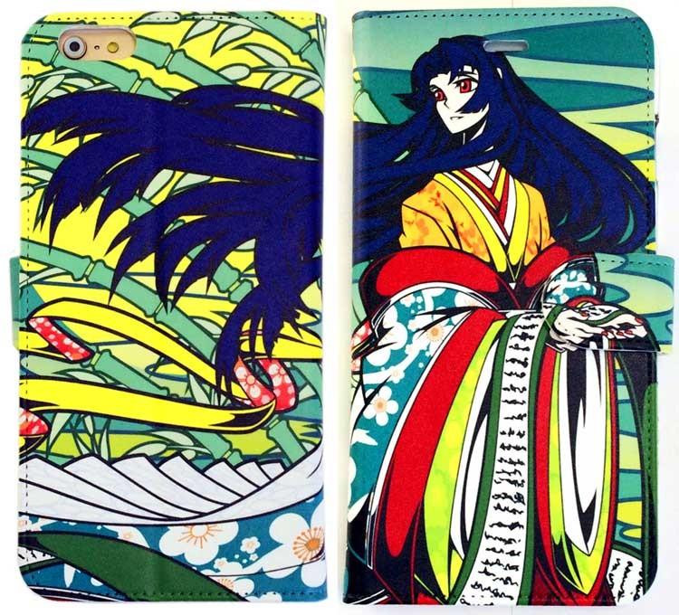 かぐや姫手帳型スマートフォンケース