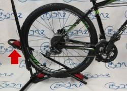 DS-800AKI 自転車横置き 後輪をセット