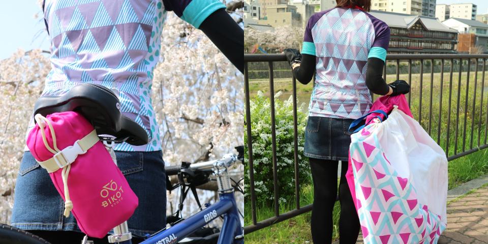 BIKOT(ビコット) CYCLING JERSEY(サイクリングジャージ)ロードバイクにおすすめサイクルウェア 和柄半袖ジャージ
