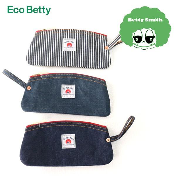 ecobetty デニムペンケース