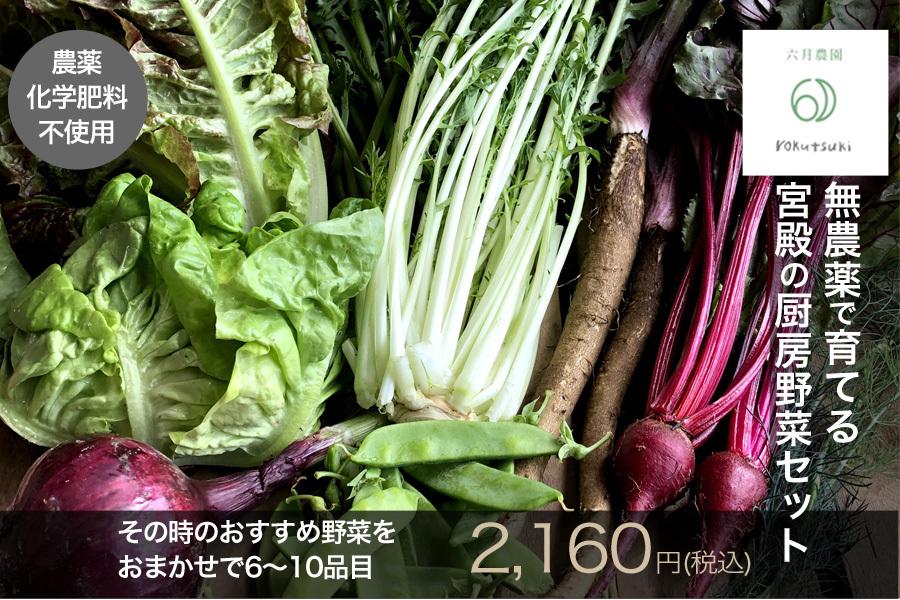 六月農園・宮殿の厨房野菜セット