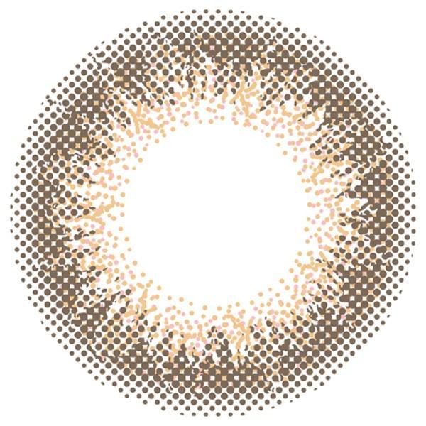 【クーポン利用で10%OFF】アンヴィ envie 梨花(1箱30枚入り)( 送料無料 ワンデー カラコン カラーコンタクト あすつく )|queeneyes|07