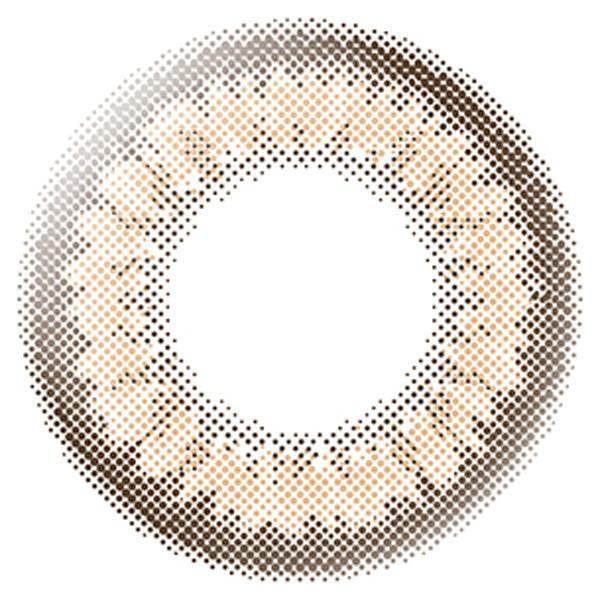【クーポン利用で10%OFF】【10枚】エバーカラーワンデー モイストレーベル / ルクアージュ 沢尻エリカ  (1箱10枚入り)( カラコン 送料無料 エバーカラー ) queeneyes 28