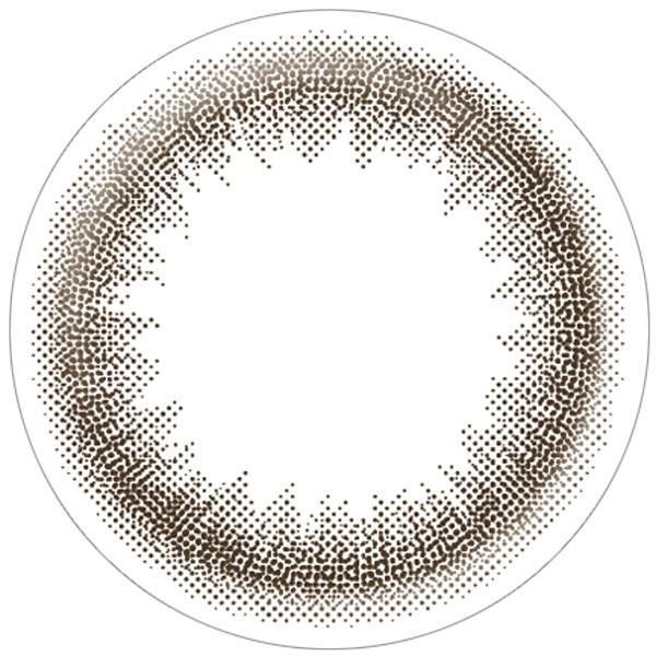 【クーポン利用で20%OFF】ラルム ワンデーリング LARME 1day Ring 池田エライザ (1箱10枚)( 送料無料 ワンデー 1day ワンデーカラコン 度入り 人気 自然 ) queeneyes 10