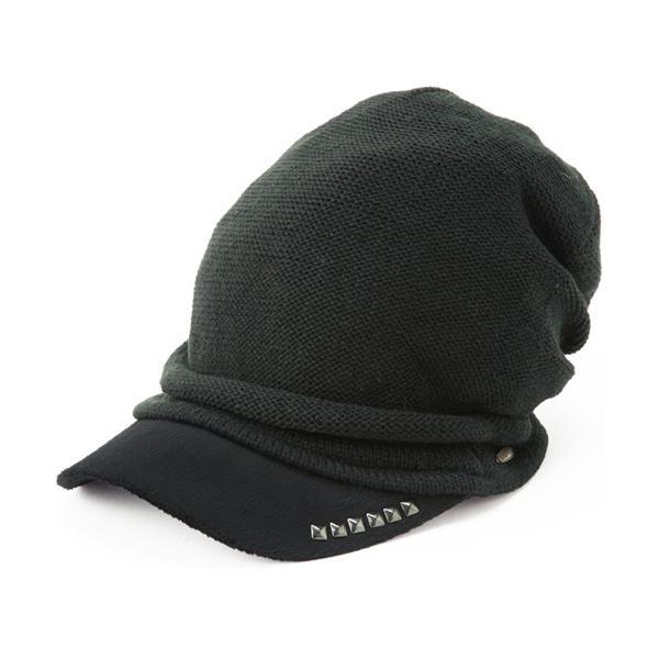 セール 1000円 ニット帽 小顔効果や防寒対策に 帽子 レディース 大きいサイズ ニット帽 商品名 アクセントニットキャスケット|queenhead|14