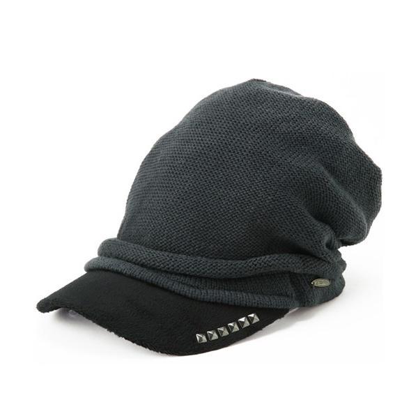セール 1000円 ニット帽 小顔効果や防寒対策に 帽子 レディース 大きいサイズ ニット帽 商品名 アクセントニットキャスケット|queenhead|15