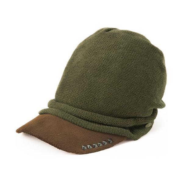 セール 1000円 ニット帽 小顔効果や防寒対策に 帽子 レディース 大きいサイズ ニット帽 商品名 アクセントニットキャスケット|queenhead|17