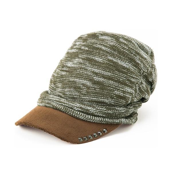 セール 1000円 ニット帽 小顔効果や防寒対策に 帽子 レディース 大きいサイズ ニット帽 商品名 アクセントニットキャスケット|queenhead|22