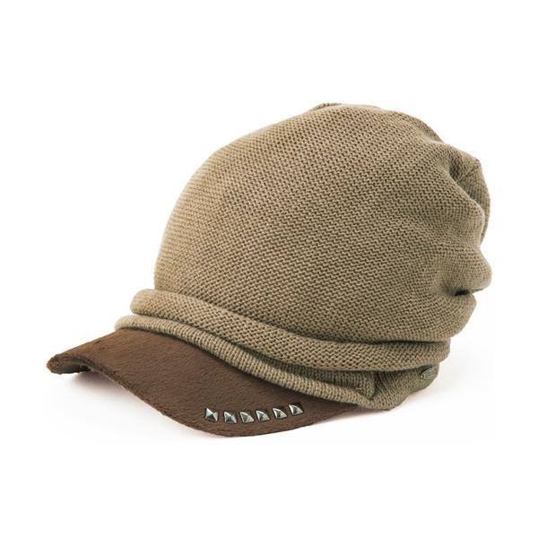 セール 1000円 ニット帽 小顔効果や防寒対策に 帽子 レディース 大きいサイズ ニット帽 商品名 アクセントニットキャスケット|queenhead|16