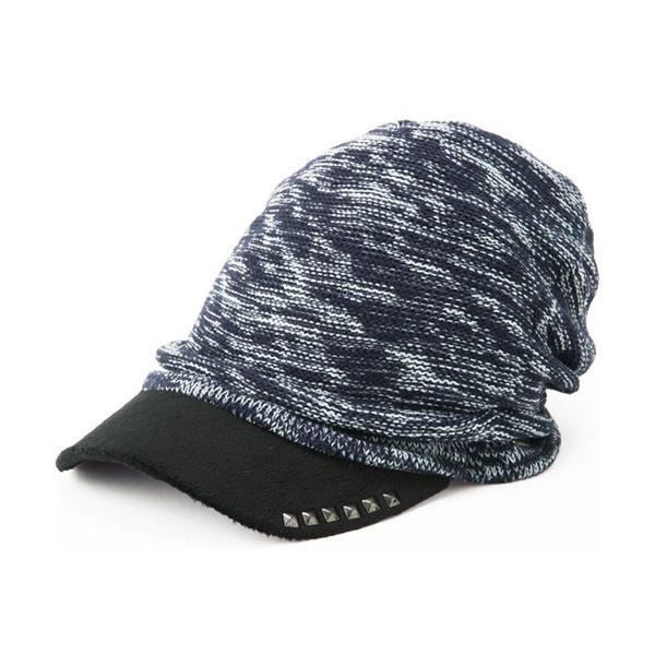 セール 1000円 ニット帽 小顔効果や防寒対策に 帽子 レディース 大きいサイズ ニット帽 商品名 アクセントニットキャスケット|queenhead|20
