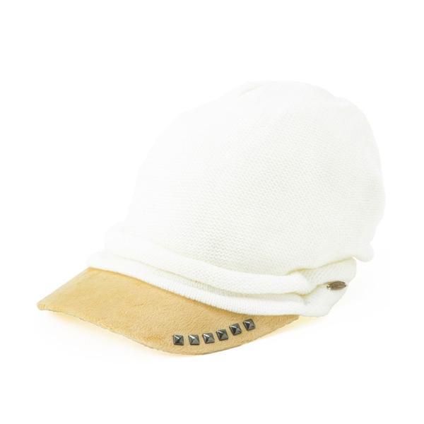 セール 1000円 ニット帽 小顔効果や防寒対策に 帽子 レディース 大きいサイズ ニット帽 商品名 アクセントニットキャスケット|queenhead|18