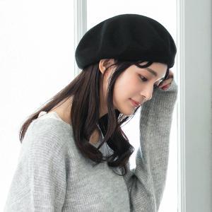 帽子 レディース 締め付けゼロ ゆったりリブベレー帽 大きいサイズ ベレー帽 フェルト 秋 冬 秋冬 SALE セール QUEENHEAD PayPayモール店