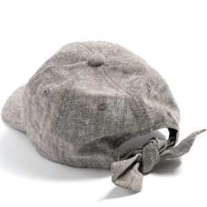 帽子 レディース UV 大きいサイズ リボンキャップ キャップ CAP 日よけ 自転車 母の日 春 夏 クイーンヘッド QUEENHEAD