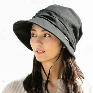 帽子 レディース UV 紫外線 大きいサイズ キャスケット キャスダウンハット 折りたたみ つば広 日よけ 折りたたみ 自転車 飛ばない 母の日 春 夏|クイーンヘッド QUEENHEAD