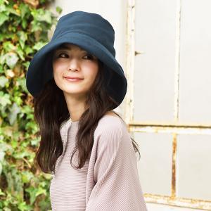 帽子 レディース UV 紫外線カット つば広 大きいサイズ 紐付き麻ポリブリムハット 日よけ 折りたたみ 飛ばない 母の日 春 夏|クイーンヘッド QUEENHEAD
