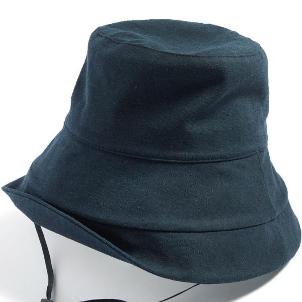 帽子 レディース 紫外線100%カット つば広 UVカット UV 大きいサイズ 紐付き麻ポリブリムハット 日よけ 折りたたみ 飛ばない 春 夏 母の日|queenhead|22