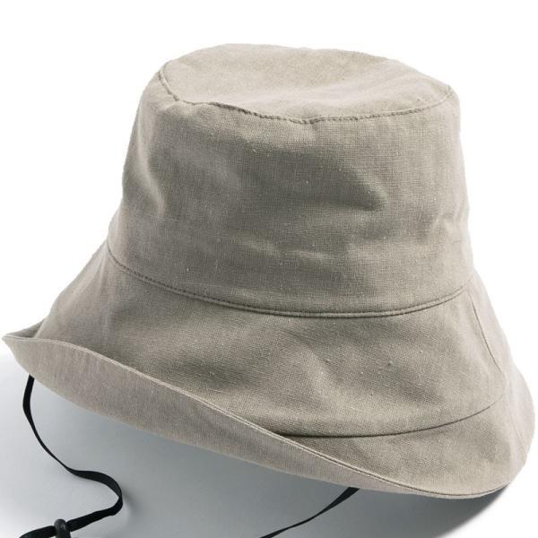 帽子 レディース 紫外線100%カット つば広 UVカット UV 大きいサイズ 紐付き麻ポリブリムハット 日よけ 折りたたみ 飛ばない 春 夏 母の日|queenhead|23