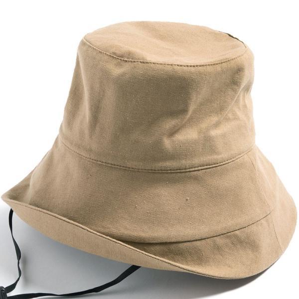 帽子 レディース 紫外線100%カット つば広 UVカット UV 大きいサイズ 紐付き麻ポリブリムハット 日よけ 折りたたみ 飛ばない 春 夏 母の日|queenhead|24