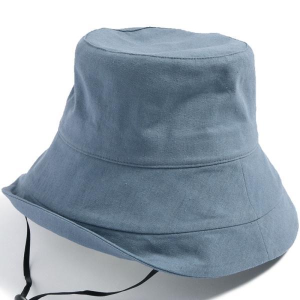 帽子 レディース 紫外線100%カット つば広 UVカット UV 大きいサイズ 紐付き麻ポリブリムハット 日よけ 折りたたみ 飛ばない 春 夏 母の日|queenhead|26
