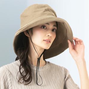 帽子 レディース UV 大きいサイズ 紫外線カット 1stブリムハット つば広 日よけ 折りたたみ 自転車 飛ばない 春 夏 QUEENHEADヤフー店