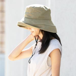 帽子 レディース UV 大きいサイズ 紫外線カット 1stブリムハット つば広 日よけ 折りたたみ 自転車 飛ばない 母の日 春 夏|クイーンヘッド QUEENHEAD